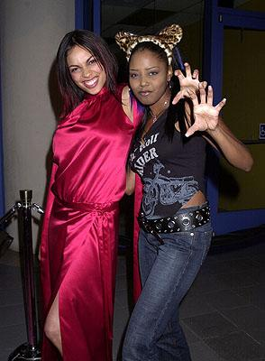 Rosario Dawson and Shar Jackson at the Hollywood premiere of Josie and the Pussycats