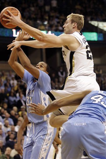No. 5 North Carolina beats Wake Forest 68-53