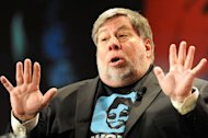Steve Wozniak, who co-founded Apple Computers with Steve Jobs in 1976, at Woz Live in Sydney on May 14, 2012