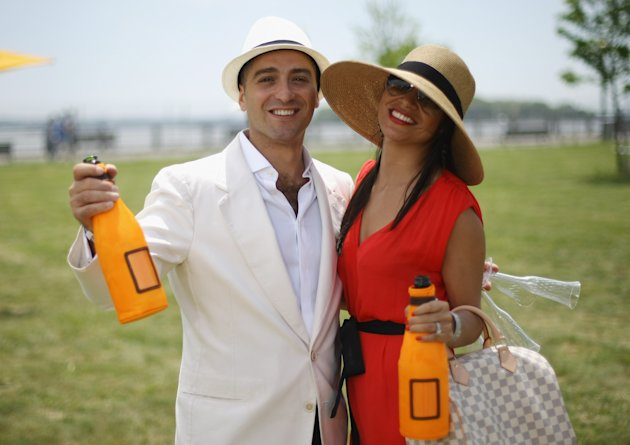 The Fifth Annual Veuve Clicquot Polo Classic - Public Side & Atmosphere