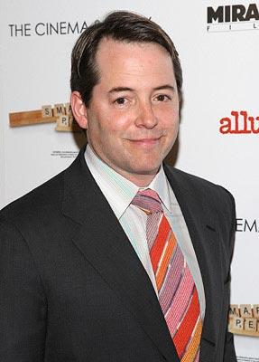 Matthew Broderick at the New York City premiere of Miramax Films' Smart People – 03/31/2008 Photo: Jason Kempin, WireImage.com