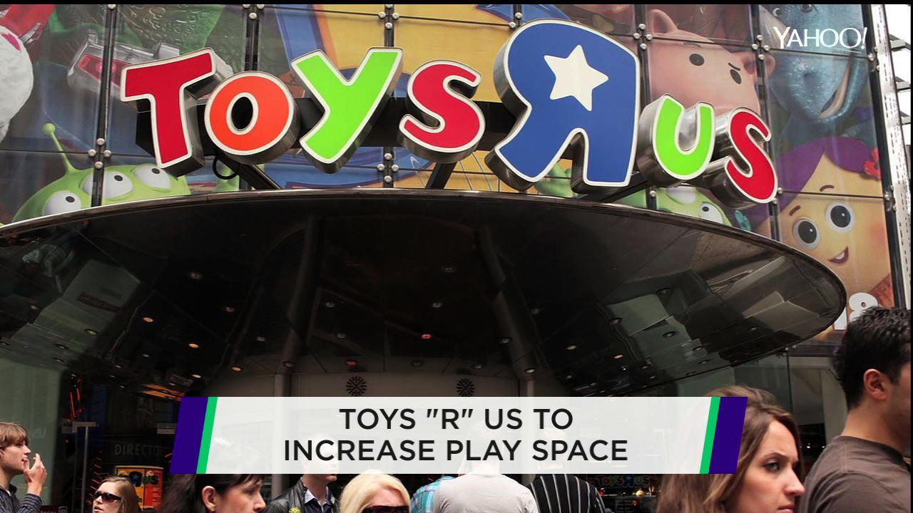 Toys 'R' Us plans to add some extra fun to its stores