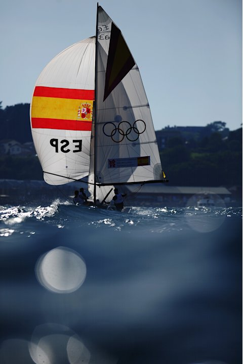 Olympics Day 15 - Sailing - Women's Elliott 6m WMR
