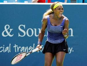 Tennis: Western and Southern Open-Williams vs Stosur