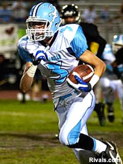 Camarillo wide receiver Jake Maulhardt