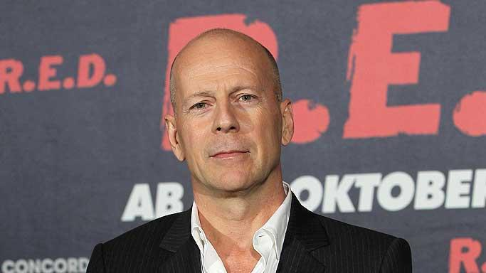 Bruce Willis RED Berlin Pr