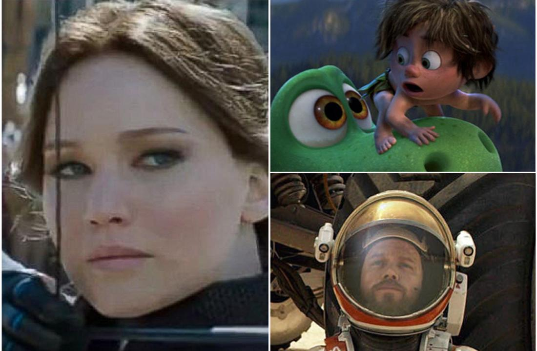 China Makes Space For 'The Martian' As 'Good Dinosaur' Snatches Eggs From No. 1 'Mockingjay 2' – Intl B.O. Update