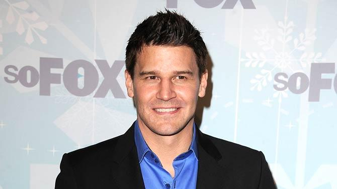 David Boreanaz FOX All Star Party