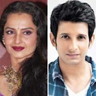 Rekha To Play Sharman Joshi's Grandmother In Indra Kumar's Next