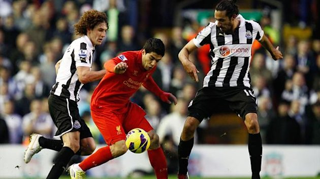 liverpool newcastle suarez coloccini gutierrez