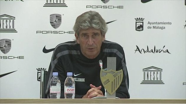 Pellegrini coy on Man City link