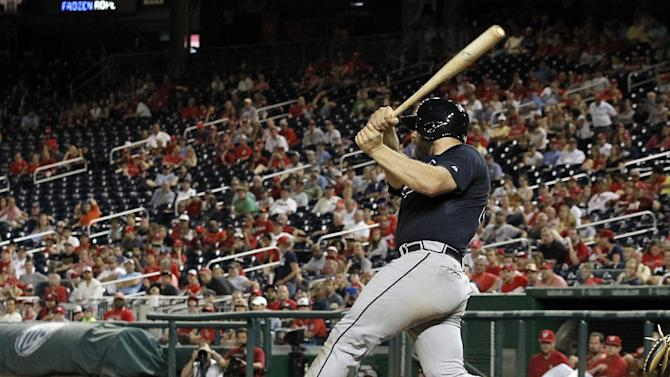 Braves reclaim 1st place, top Nationals 6-4 in 13