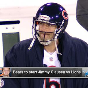 'Around the NFL': Effect of Cutler being benched for Clausen