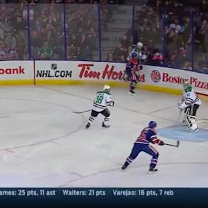Nail Yakupov Hit on John Klingberg (05:27/2nd)