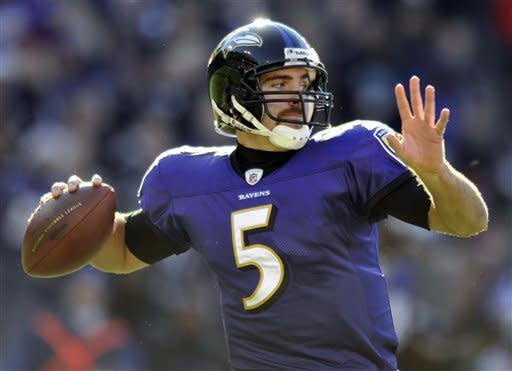 Flacco leads Ravens to 20-14 win over Browns