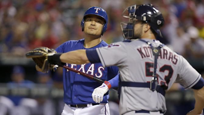 Rangers try to stay afloat during key AL West trip