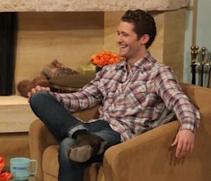 Matthew Morrison stops by Access Hollywood Live on March 8, 2011 -- Access Hollywood
