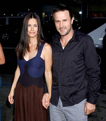 Premiere: Courteney Cox Arquette and David Arquette at the Hollywood premiere of Paramount Pictures' The Longest Yard - 5/19/2005 