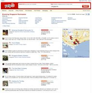 """http://www.yelp.com.sg/"" screenshot"