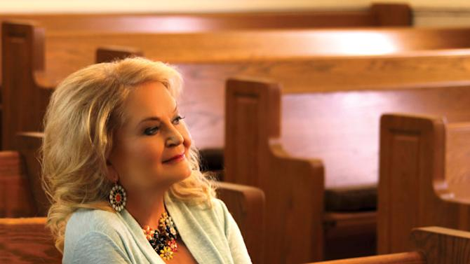 Singer Lynn Anderson is pictured at a church in Leiper's Fork, Tennessee in this handout photo