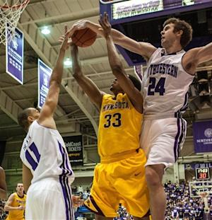 Shurna, Northwestern topple Minnesota 64-53