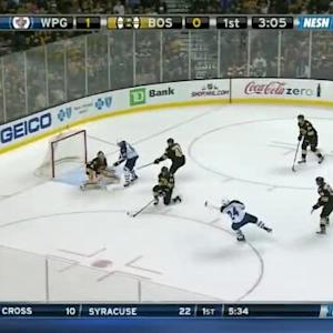 Tuukka Rask Save on Grant Clitsome (16:56/1st)