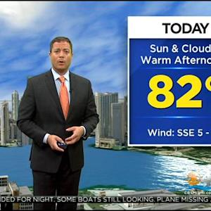 CBSMiami.com Weather @ Your Desk 12-28-14 8 AM