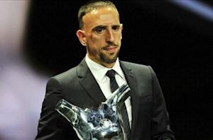 Messi: Ribery deserving of Best in Europe award