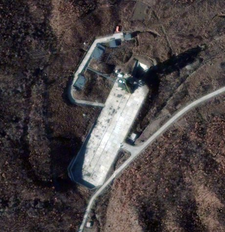 Sohae Launch Facility, North Korea, Nov. 26, 2012: This satellite image of the Sohae Launch Facility on Nov. 26, 2012 shows a marked increase in activity at North Korea's Sohae (West Sea) Satellite Launch Station. This activity is consistent wi