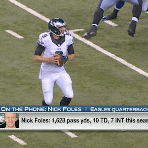 Philadelphia Eagles quarterback Nick Foles: 'My numbers are not as great as last year'