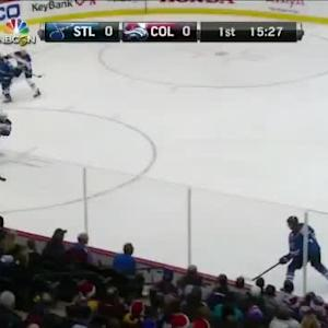 Blues at Avalanche / Game Highlights