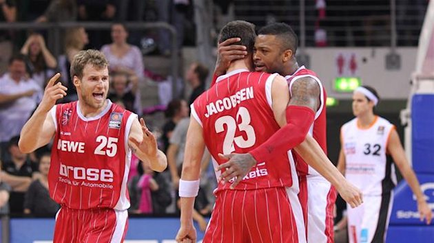 2011 2012 Beko BBL-Pokal Brose Baskets Bamberg