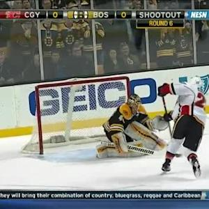 Tuukka Rask Save on Drew Shore (00:00/SO)