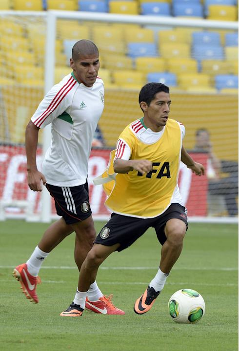 Mexico Training -FIFA Confederations Cup Brasil 2013