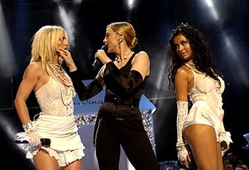 Britney Spears, Madonna and Christina Aguilera MTV Video Music Awards - 8/28/2003
