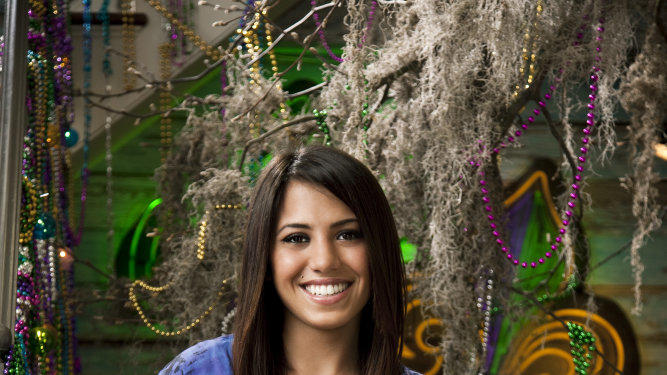 "Sahar of ""The Real World: New Orleans."""