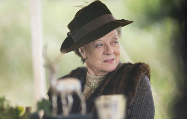 Dame Maggie... doesn't watch Downton (Copyright: ITV)