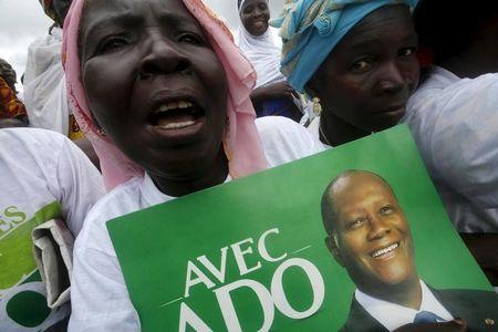 Ivory Coast leader launches re-election bid with pledge on justice