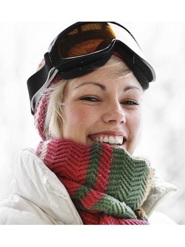Those rosy cheeks you get from being outside in the cold is totally healthy.