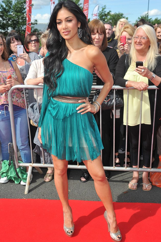 Nicole Scherzinger, X Factor UK, auditions