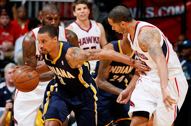 Indiana Pacers v Atlanta Hawks - Game Four