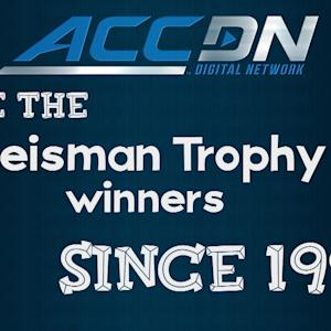 Heisman Trophy Quiz with ACC Players and Coaches