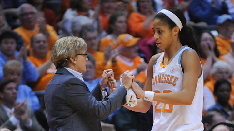NCAA Womens Basketball: Georgia at Tennessee