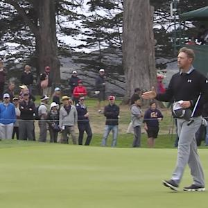 John Senden interview after the Round of 16 of Cadillac Match Play
