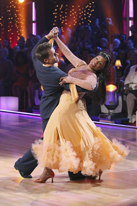 Niecy Nash and Louis Van Amstel …