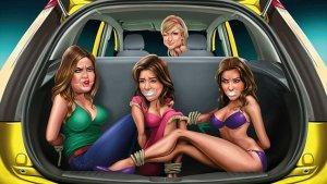 Ford Apologizes for Ad Featuring Bound and Gagged Kardashian Sisters, Paris Hilton