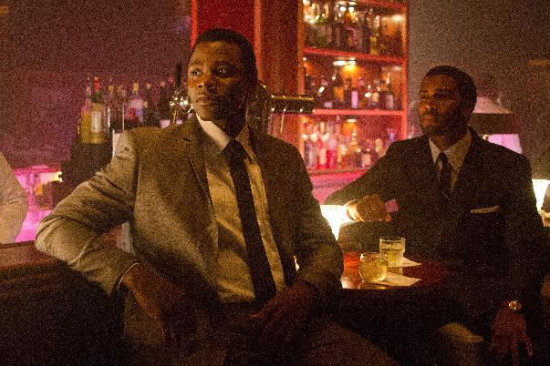 "This undated film image released by TriStar Pictures shows Derek Luke, left, and Omari Hardwick in a scene from ""Sparkle."" (AP Photo/TriStar Pictures - Sony, Alicia Gbur)"