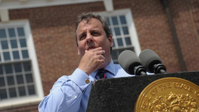 Christie may have to rein in his shouting ways.