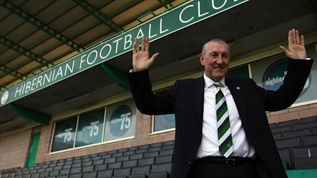 Terry Butcher, Hibs manager (PA Sport)