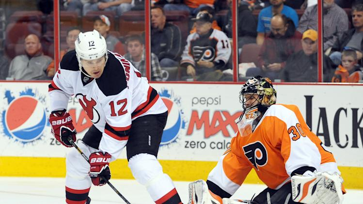 NHL: New Jersey Devils at Philadelphia Flyers